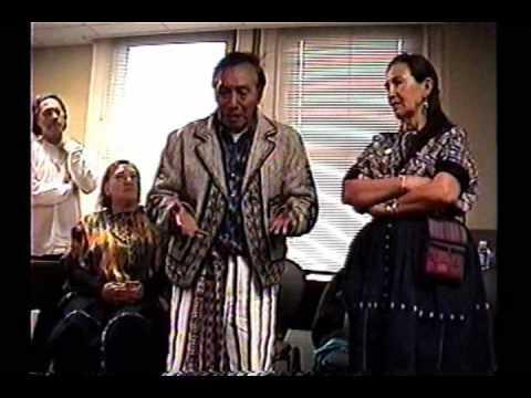 Maya elder Don Alejandro in Pittsburgh 2012 Prophecy Part 4
