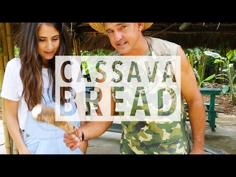 How to Make Cassava Bread in Cuba