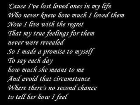 Ronan Keating - If tomorrow never comes *with lyrics*