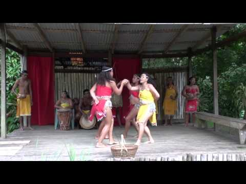 Carib indian Dance---------Dominica   30 Dec 2013