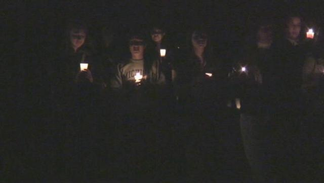 Vigil for Okemos grads killed in car crash