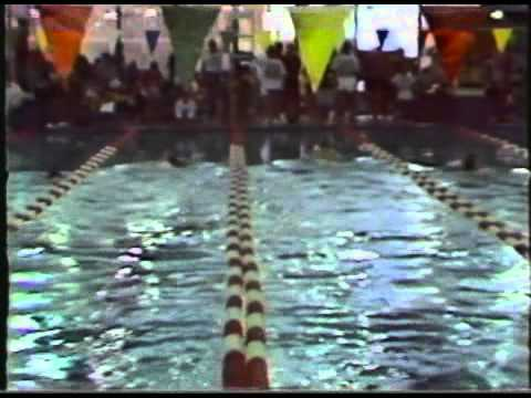 1988 Black History Swim Meet featuring Tom Dolan Olympic Champion World Record holder at age 12