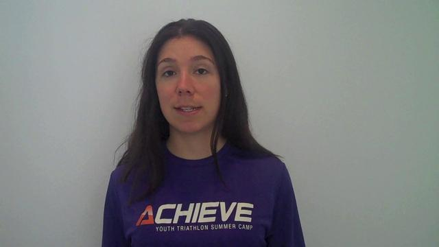 Michelle Harburg, ACHIEVE Kids Tri Program Director