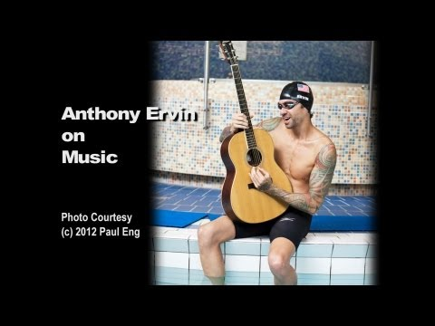 Anthony Ervin - Keeping on track with swimming and music