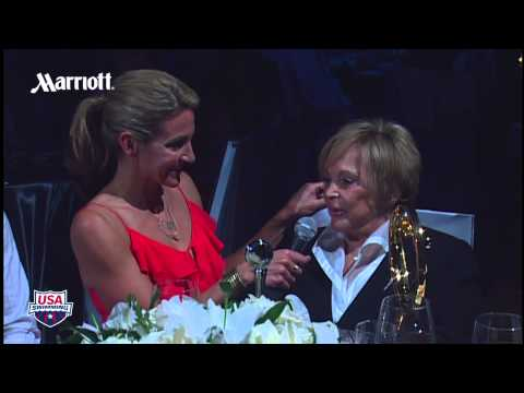 Impact Award Winner Carolyn Dirks   2011 Golden Goggles Award Show
