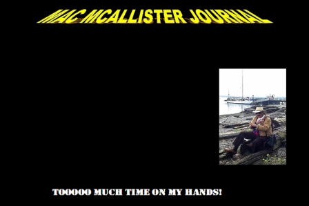 Mac McAllister Journal-Starting focus group for people who have way toooooo much time on their hands…
