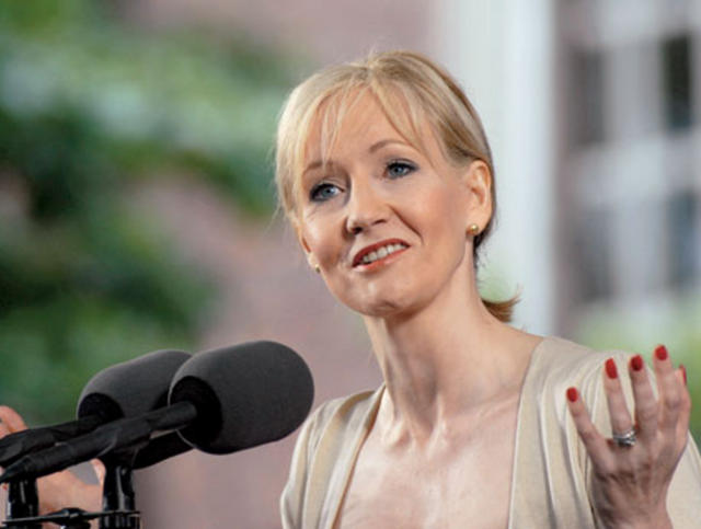 "J.K. Rowling,  ""The Fringe Benefits of Failure, and the Importance of Imagination,"""