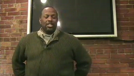 """Kevin Brooks tells """"The Miracle of the Human Species"""" 1-26-09"""
