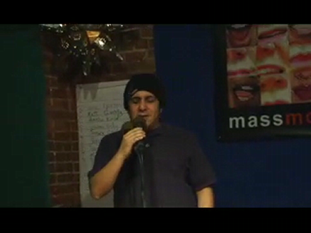 "1st Cambridge Story Slam 1-31-10 Will Luera ""Christmas 1987"""