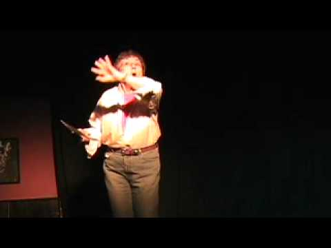 """Shakespeare Slam, Kate Carney as Mistress Quickly from """"The Merry Wives of Windsor"""", Act II Scene 2"""