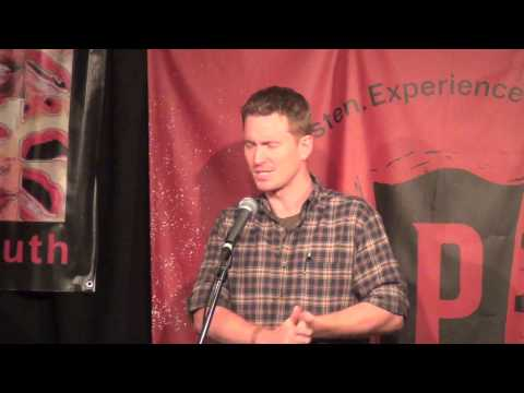 """Used"" - Joe King @Club Passim Sept 16, 2013 massmouth,inc. story slam season V"