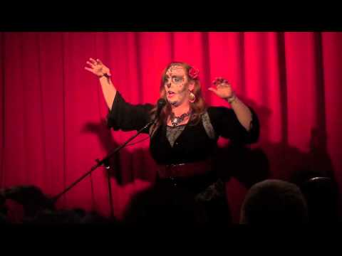 Scary Stories - Diana Valentine @Puppet Showplace Theatre October 31, 2013 massmouth,inc.