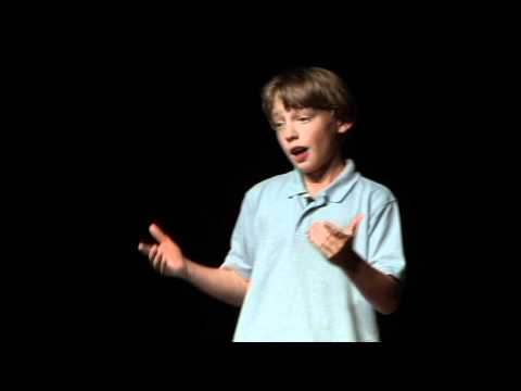 "11 year old Birke Baehr -""What's Wrong With Our Food System? And How Can We Make A Difference?"""