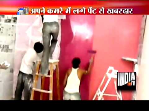Lead in Paints Media Coverage- India TV ,Toxics Link ,20 Nov. 2013 ,