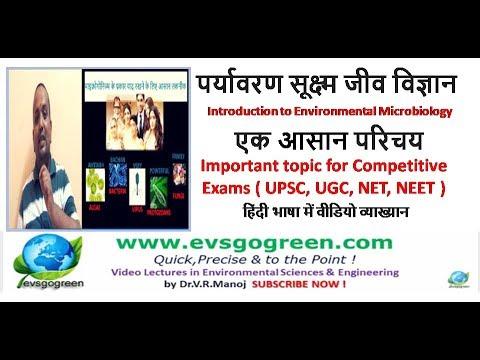 Environmental Microbiology easy Hindi Lecture पर्यावरण सूक्ष्म जीव विज्ञान  एक आसान परिचय