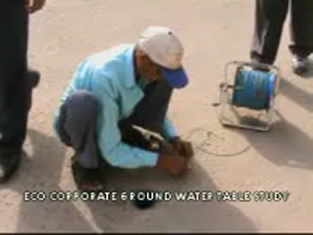 ground water table measurement