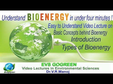 Understand Bioenergy in just four minutes