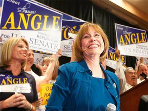 6 Facts On Radical Tea Party Candidate Sharron Angle Of NV