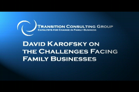 David Karofsky on the Challenges of Family Business