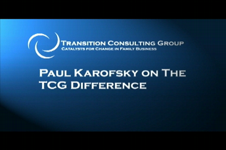 Paul Karofsky on the TCG Difference