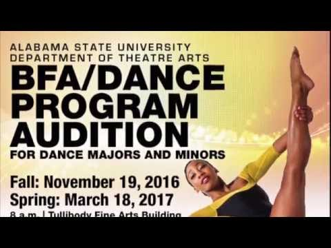 ASU BFA DANCE PROGRAM 2016-2017 AUDITION VIDEO