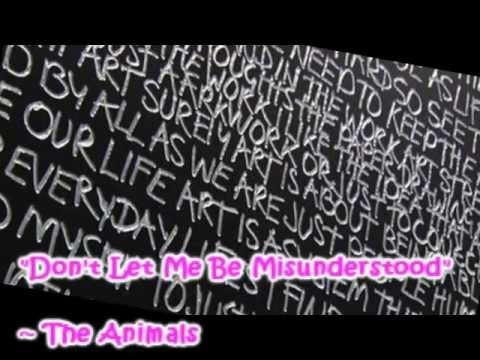 "The Animals - ""Don't Let Me Be Misunderstood"" Dyslexia PSA"