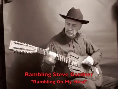 """Rambling On My Mind"" Rambling Steve Gardner 12 String National Reso-phonic Lefty"