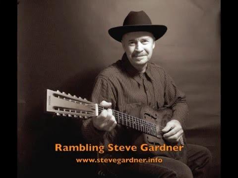 """""""YOUR CHEATIN' HEART"""" Rambling Steve Gardner 12 string National Reso-phonic Lefty"""
