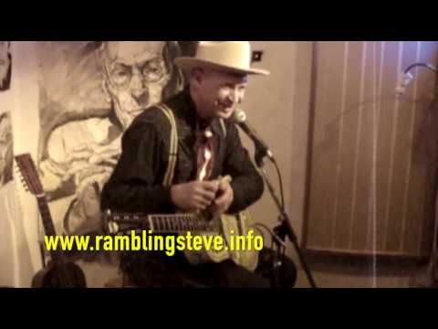 "Rambling Steve Gardner-LIVE-""Phonograph Blues"" & ""In The Pines"""