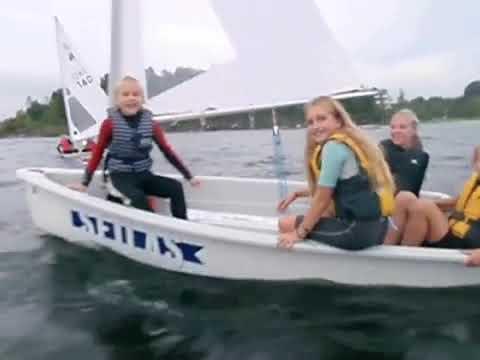 Seiling på Nesøya