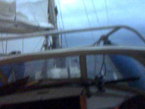 Over Nordsjøen med S/Y Balja