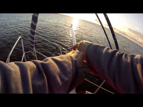 Sailing Blue Bird | Leaving the anchorage - BOUND for BALTIC expedition 2013