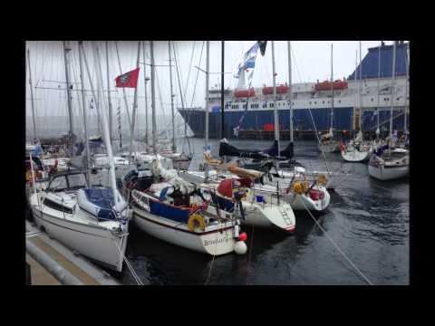 Sailing Bomtur - Shetland