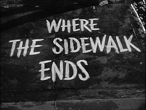 Where The Sidewalk Ends 1950 - Dana Andrews/Gene Tierney