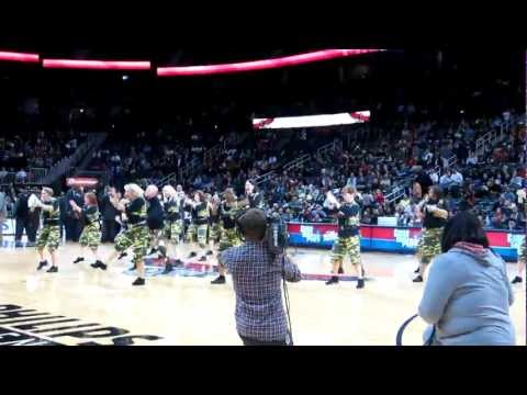 ATL SILVER CLASSIX CREW Performs at Hawks Game!