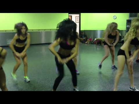 Detroit Pistons Dancers-Miz V Choreo to Gap Band Mix