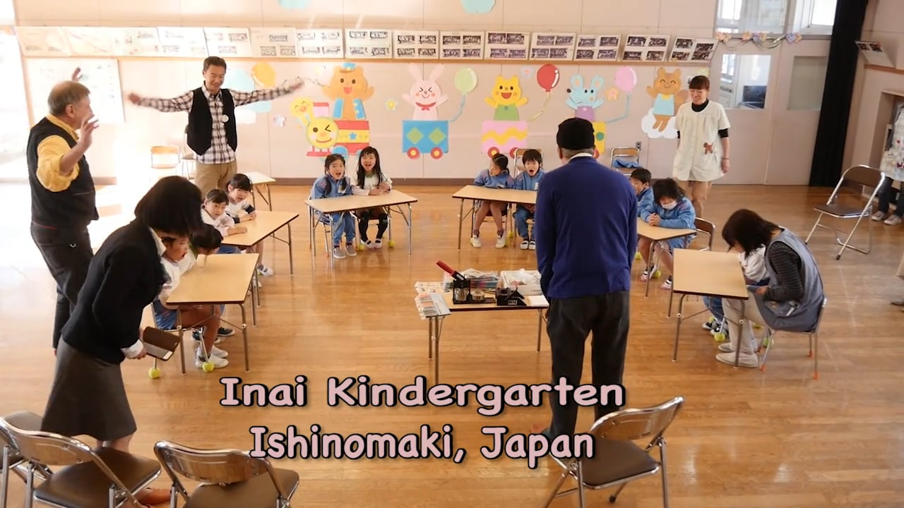 Inai Kindergarten Giving Tree Workshop, Ishinomaki, Japan 2015