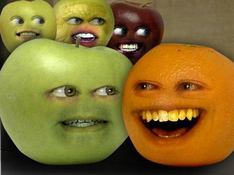 Teenage Mutant Ninja Apples