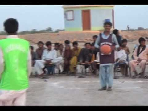 """Barefoot Basketball"" Comes To Pakistan"