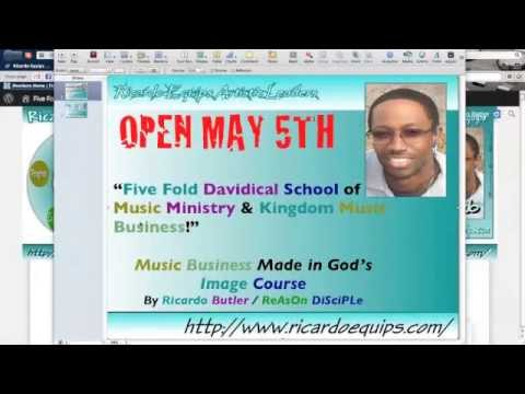 Five Fold Davidical School of Hip Hop Business Launch May 5th
