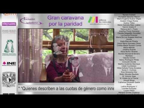 Caravana Paridad Antecedentes históricos con Luisa Huertas