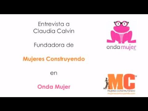 Entrevista a Claudia Calvin en Onda Mujer