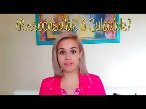 ¿Eres Responsable o Culpable?