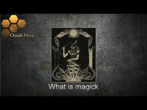 Magic, A Road to Self - Lecture by Stephan A  Hoeller