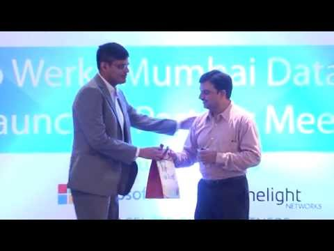 Microsoft and WebWerks at TIER IV Data Center Launch | 4th June 2015