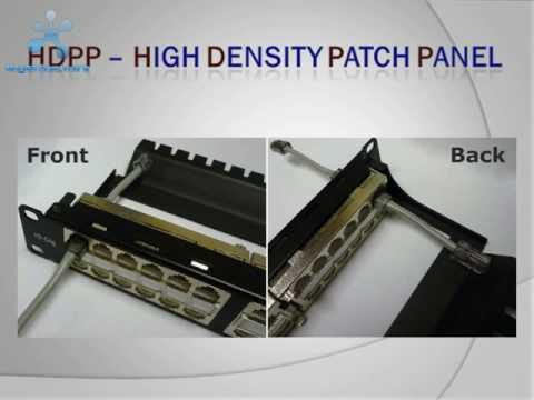 HDPP - High Density Patch Panel (RJ-Enterprises.com)