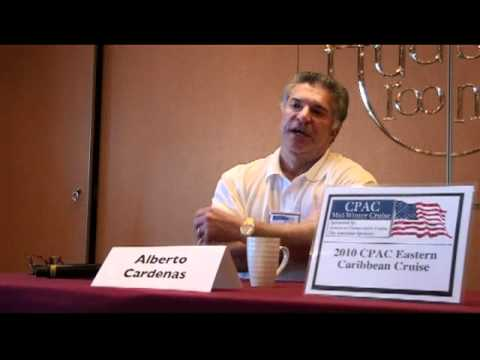 Alberto Cardenas Immigration in America, Florida and Elections CPAC Cruise 2010
