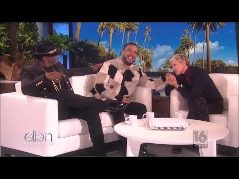 """The Ellen Show 10/11/17: Sean """"Diddy"""" Combs; French Montana; Gina Rodriguez (""""Jane the Virgin""""); hip"""