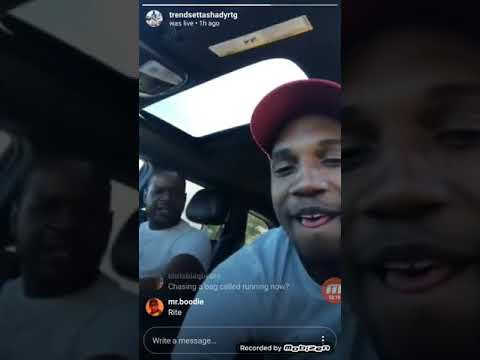 OBH  FRONTMAN AR AB GETS EXPOSED BY SHADY BLACK PULLED UP LIVE