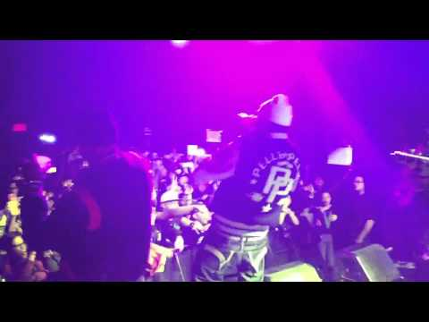 Wale Brings Out French Montana in NYC (2/10/12)